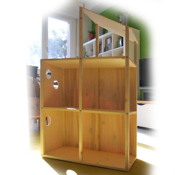 Casa di barbie web e graphic designer for Casa barbie fai da te legno